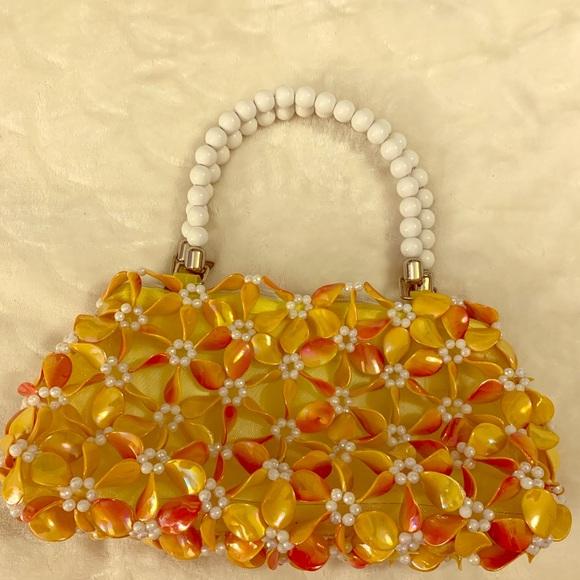 Unique Beaded Hand bag